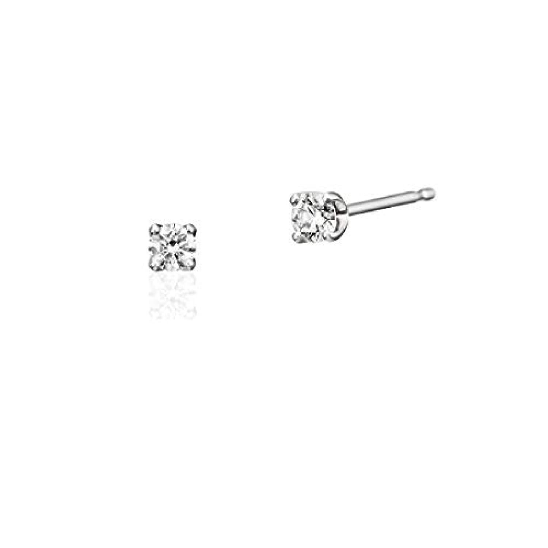 4℃(ヨンドシー)ダイヤモンドプラチナ(PT)ピアス 111823155001