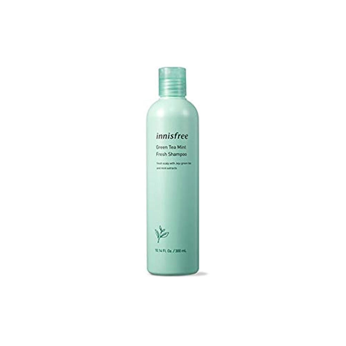 序文伝染性のキーイニスフリー Innisfree 緑茶ミントフレッシュシャンプー(300ml) Innisfree Green Tea Mint Fresh Shampoo (300ml) [海外直送品]