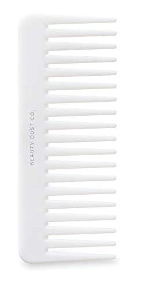 機密意味する万歳Beauty Dust Co Detangling Shower Comb - Gently Detangles. Helps reduce breakage, fraying and split ends. Wide...