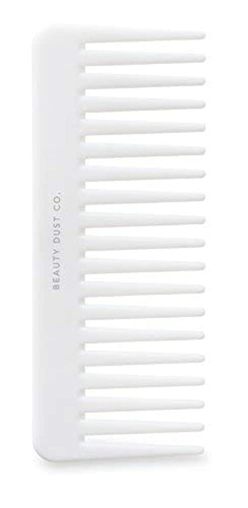 Beauty Dust Co Detangling Shower Comb - Gently Detangles. Helps reduce breakage, fraying and split ends. Wide...