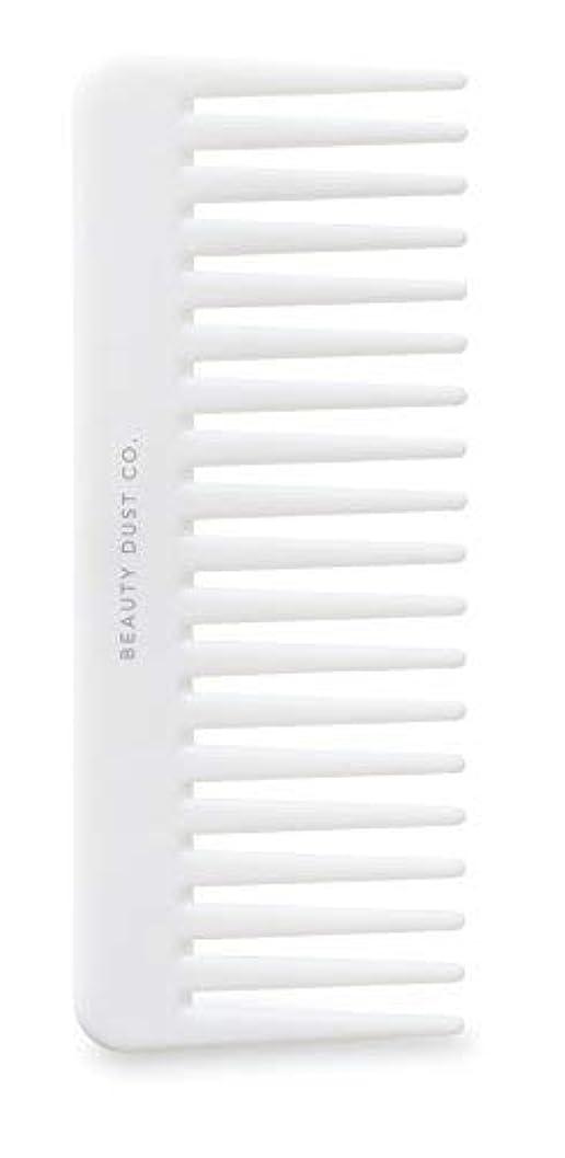 メーカーサイクロプスメタルラインBeauty Dust Co Detangling Shower Comb - Gently Detangles. Helps reduce breakage, fraying and split ends. Wide...