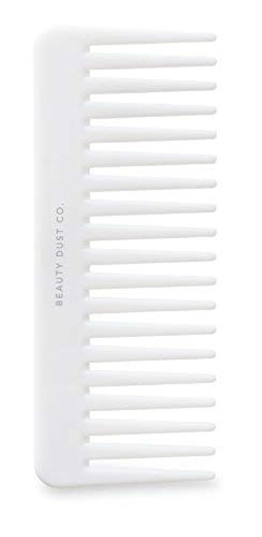 しかしチーター円形のBeauty Dust Co Detangling Shower Comb - Gently Detangles. Helps reduce breakage, fraying and split ends. Wide...