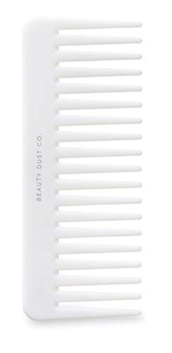 試してみる脱獄活気づけるBeauty Dust Co Detangling Shower Comb - Gently Detangles. Helps reduce breakage, fraying and split ends. Wide...