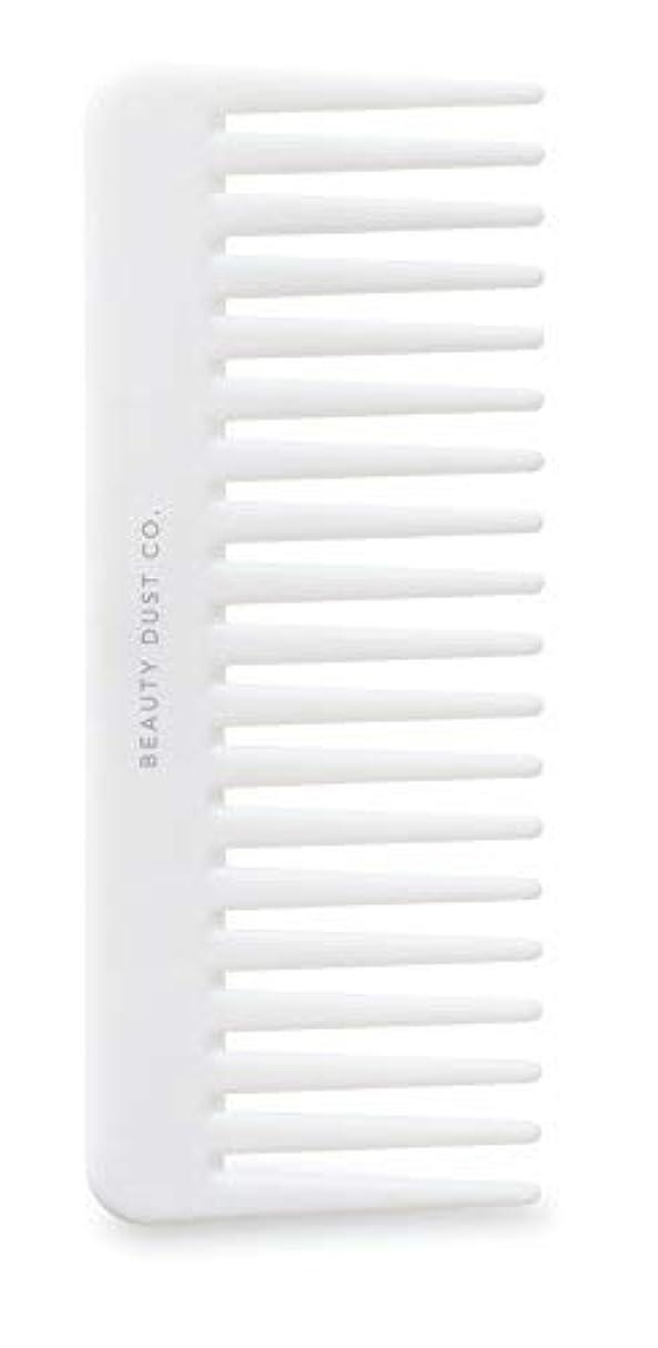 群れスプリット経度Beauty Dust Co Detangling Shower Comb - Gently Detangles. Helps reduce breakage, fraying and split ends. Wide...