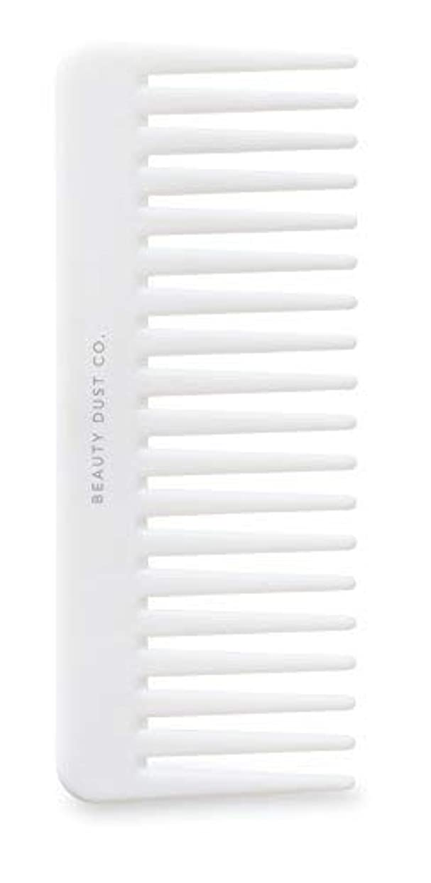 周り公園軽くBeauty Dust Co Detangling Shower Comb - Gently Detangles. Helps reduce breakage, fraying and split ends. Wide...