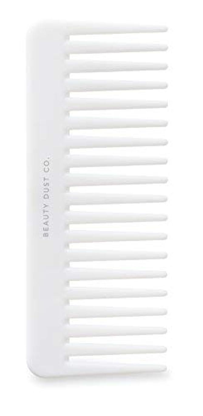 音声学息を切らして有彩色のBeauty Dust Co Detangling Shower Comb - Gently Detangles. Helps reduce breakage, fraying and split ends. Wide...