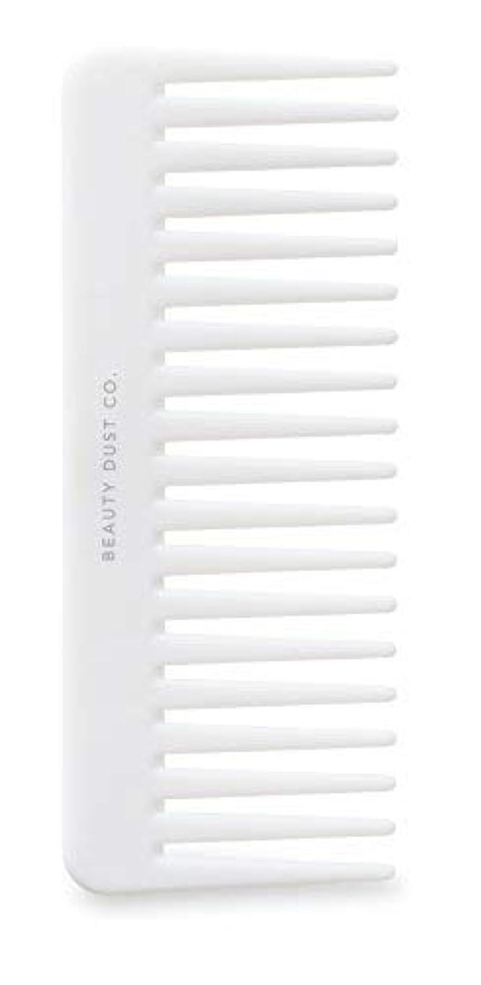 着飾るセラフフルーツ野菜Beauty Dust Co Detangling Shower Comb - Gently Detangles. Helps reduce breakage, fraying and split ends. Wide...