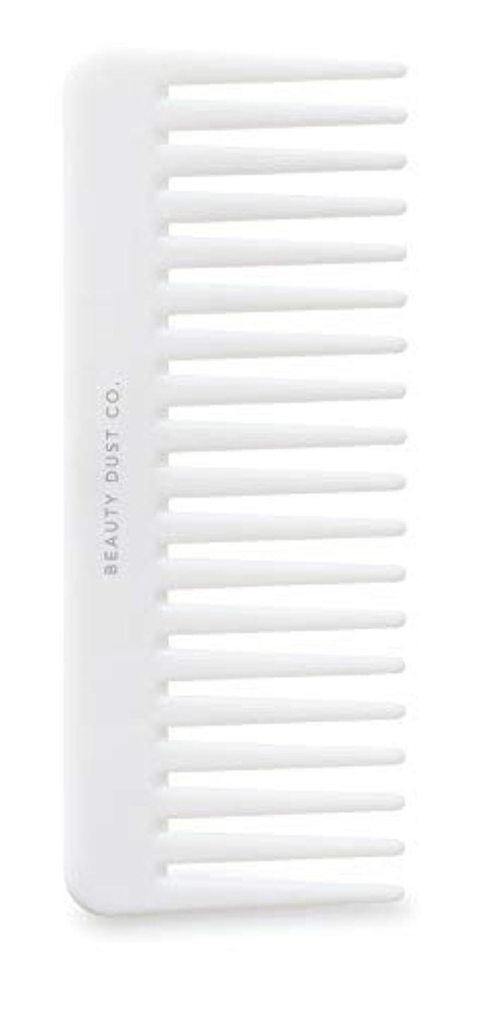 粒乏しい農場Beauty Dust Co Detangling Shower Comb - Gently Detangles. Helps reduce breakage, fraying and split ends. Wide...