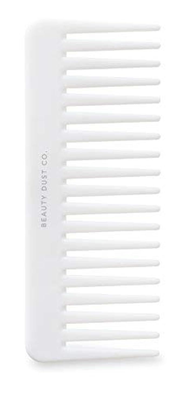 収益しおれた常習者Beauty Dust Co Detangling Shower Comb - Gently Detangles. Helps reduce breakage, fraying and split ends. Wide...