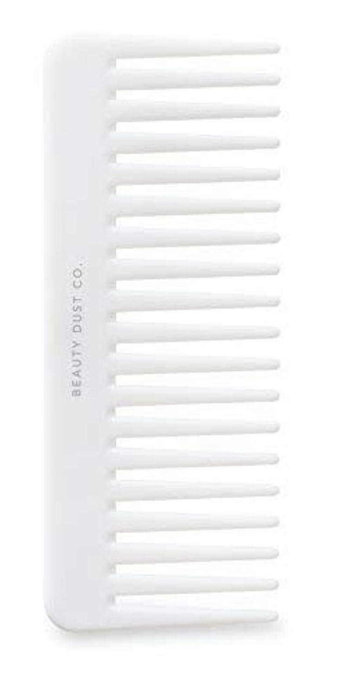 システム入学するとげBeauty Dust Co Detangling Shower Comb - Gently Detangles. Helps reduce breakage, fraying and split ends. Wide...