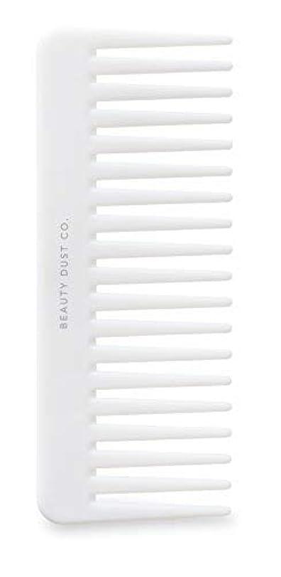 うなずくつかまえる好戦的なBeauty Dust Co Detangling Shower Comb - Gently Detangles. Helps reduce breakage, fraying and split ends. Wide...