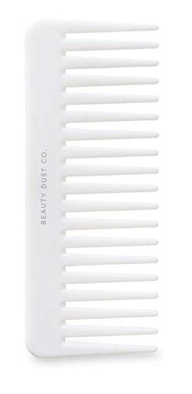 サービス気質ゴールデンBeauty Dust Co Detangling Shower Comb - Gently Detangles. Helps reduce breakage, fraying and split ends. Wide...