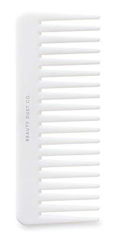 高度代理人凍るBeauty Dust Co Detangling Shower Comb - Gently Detangles. Helps reduce breakage, fraying and split ends. Wide...