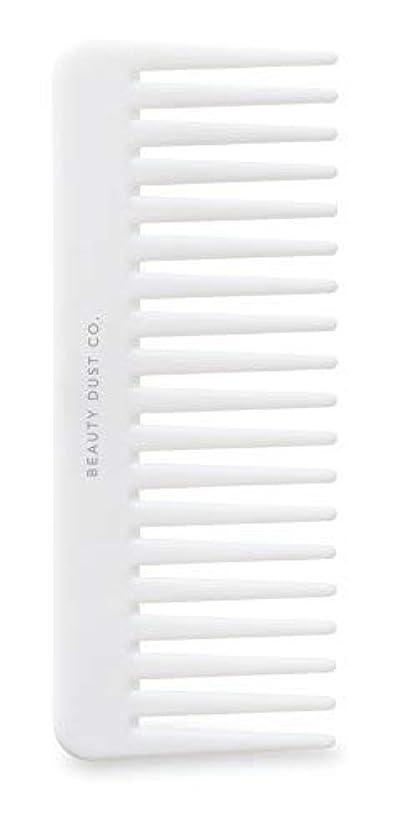 古代説明的一致Beauty Dust Co Detangling Shower Comb - Gently Detangles. Helps reduce breakage, fraying and split ends. Wide...