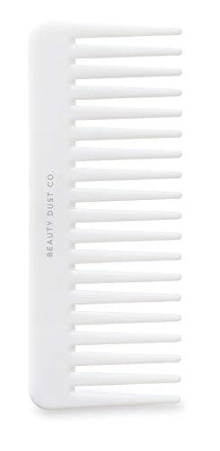 梨ロッド別れるBeauty Dust Co Detangling Shower Comb - Gently Detangles. Helps reduce breakage, fraying and split ends. Wide...
