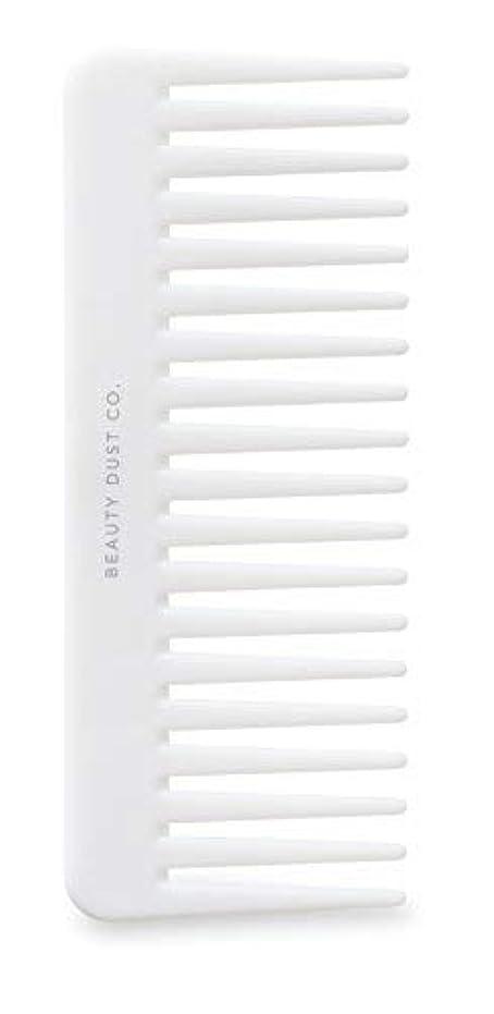 引き出す観光住所Beauty Dust Co Detangling Shower Comb - Gently Detangles. Helps reduce breakage, fraying and split ends. Wide...
