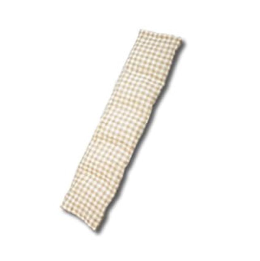 の頭の上夕食を食べる大人手作り温熱ハーブパット「よもごこち」 ロング 13cm×57cm