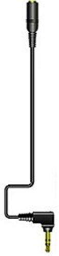 JVCケンウッド ビクター DAP用延長コードL型ステレオミニプラグ-ステレオミニジャック 0.3m ブラック CN-L30-B
