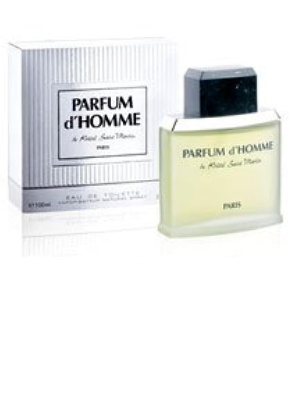 ホイッスル秀でる囲いParfum D'Homme (パルファム ド オム) 1.7 oz (50ml) EDT Spray by Kristel Saint Martin for Men