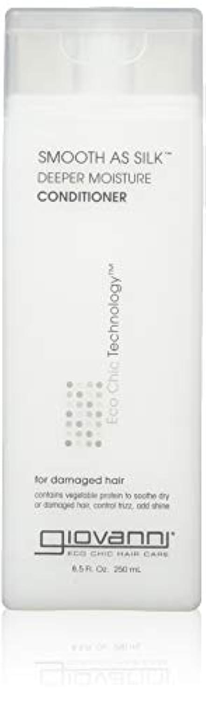 フェデレーション近代化精通したgiovanni(ジョバンニ) スムーズアズシルク モイスチャー コンディショナー 250ml