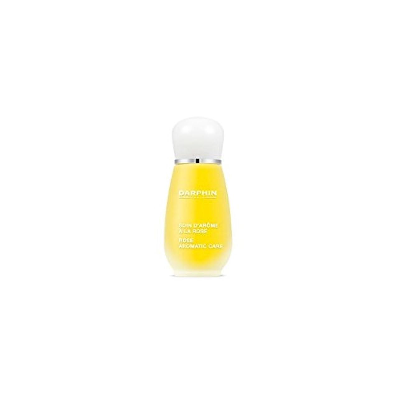 に慣れコーナー吹きさらしDarphin Rose Aromatic Care (15ml) (Pack of 6) - 芳香ケア(15ミリリットル)をバラダルファン x6 [並行輸入品]