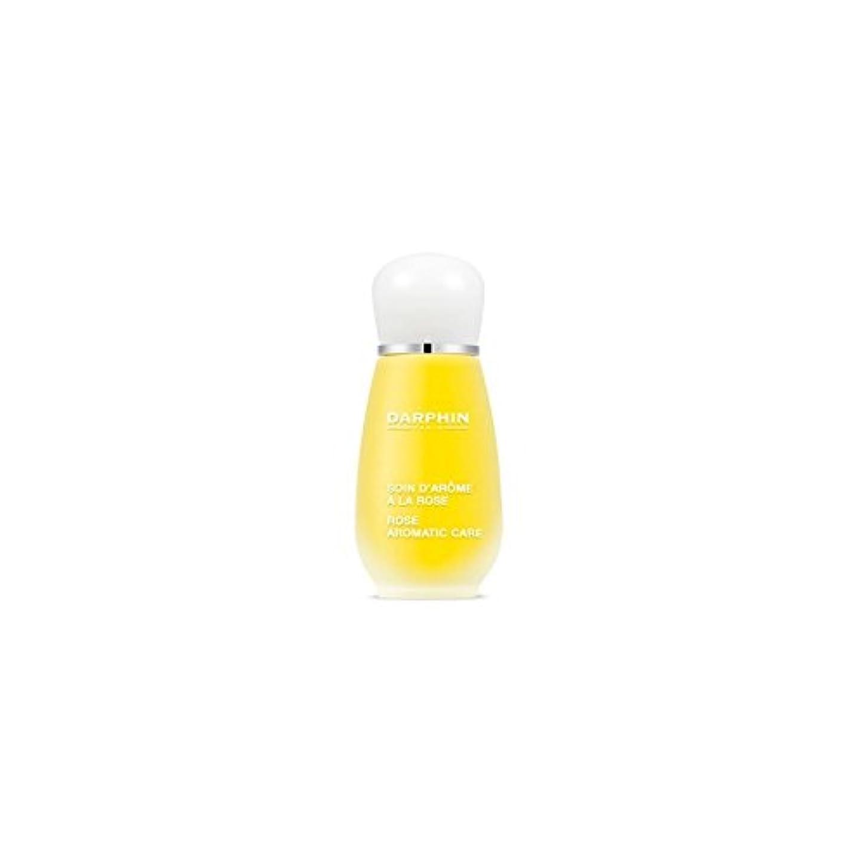 ダーツ子供っぽい悲惨なDarphin Rose Aromatic Care (15ml) (Pack of 6) - 芳香ケア(15ミリリットル)をバラダルファン x6 [並行輸入品]