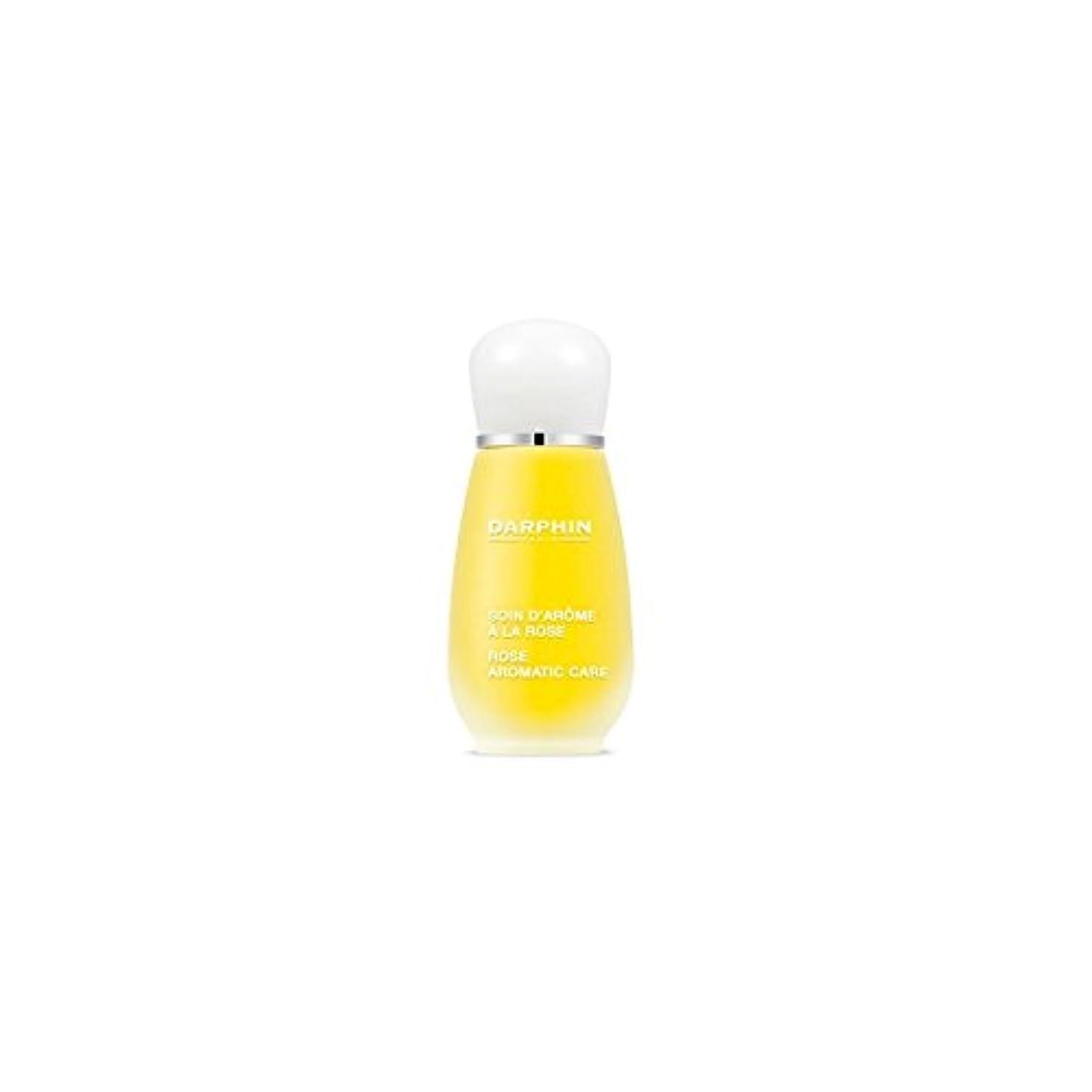 洋服汚す有力者Darphin Rose Aromatic Care (15ml) (Pack of 6) - 芳香ケア(15ミリリットル)をバラダルファン x6 [並行輸入品]