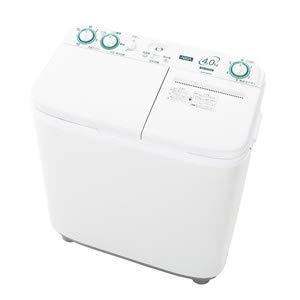 アクア 4.0kg 2槽式洗濯機 ホワイトAQUA AQW-N40-W