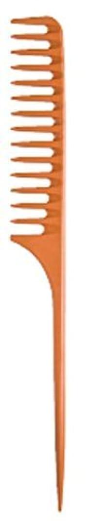 打たれたトラック教会変位Diane Large Tail Comb Dozen, Bone, 11.5 Inch [並行輸入品]
