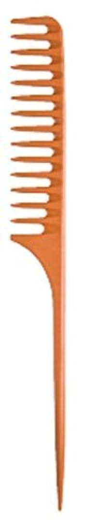 転用前方へ名前を作るDiane Large Tail Comb Dozen, Bone, 11.5 Inch [並行輸入品]