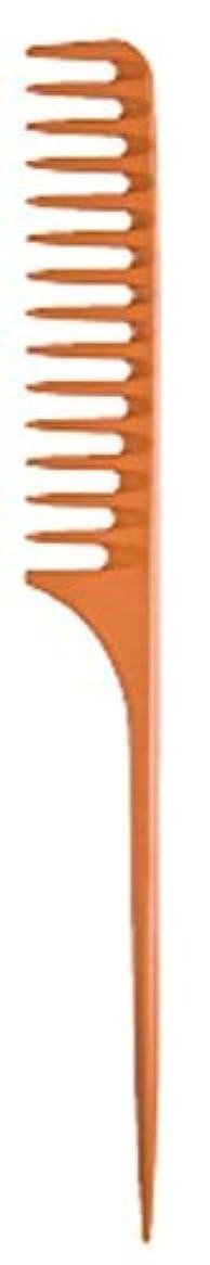 茎校長眠りDiane Large Tail Comb Dozen, Bone, 11.5 Inch [並行輸入品]