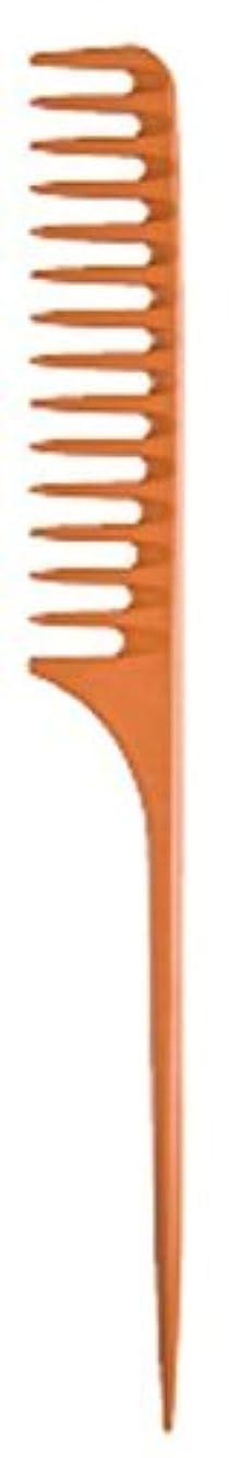 助言する猫背セーブDiane Large Tail Comb Dozen, Bone, 11.5 Inch [並行輸入品]