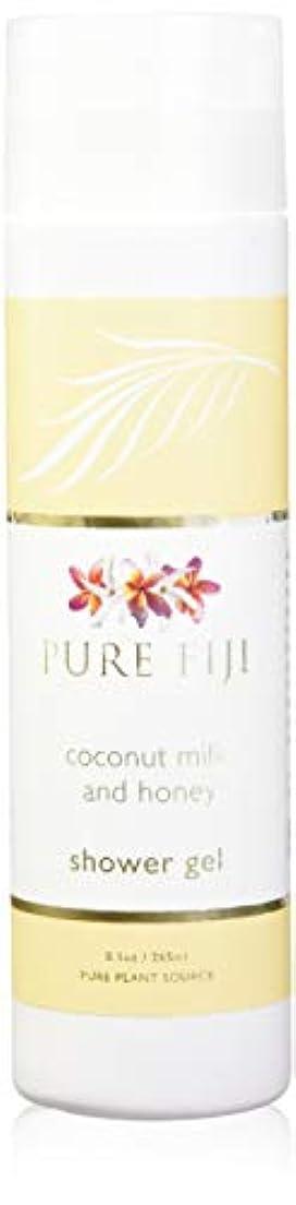 外向き重量落ち着くPure Fiji Coconut Milk Shower Gel - Coconut Milk & Honey by Pure Fiji [並行輸入品]
