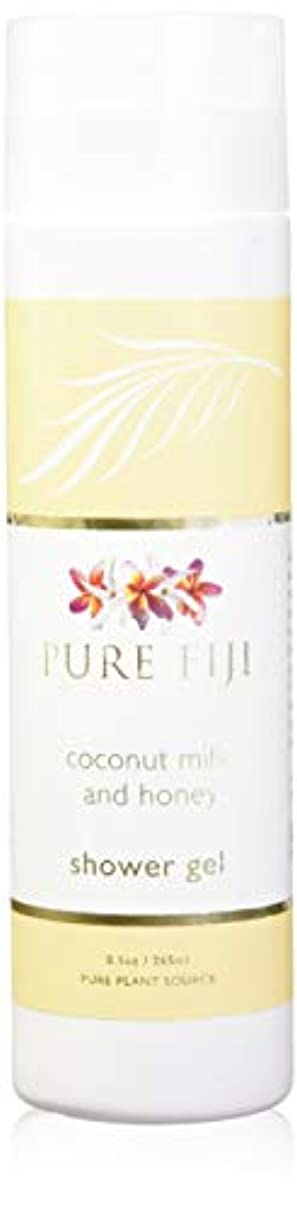 批判的にバラ色病気のPure Fiji Coconut Milk Shower Gel - Coconut Milk & Honey by Pure Fiji [並行輸入品]
