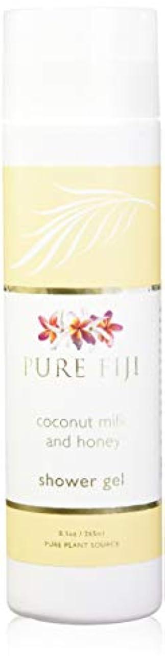 食い違いエステートましいPure Fiji Coconut Milk Shower Gel - Coconut Milk & Honey by Pure Fiji [並行輸入品]