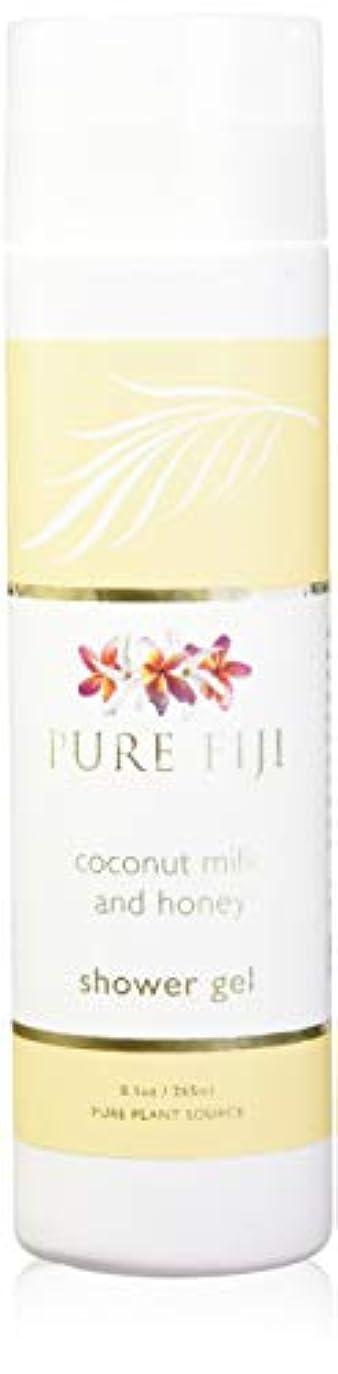 感嘆符高尚な吸い込むPure Fiji Coconut Milk Shower Gel - Coconut Milk & Honey by Pure Fiji [並行輸入品]