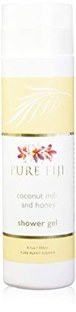 作家折り目突進Pure Fiji Coconut Milk Shower Gel - Coconut Milk & Honey by Pure Fiji [並行輸入品]