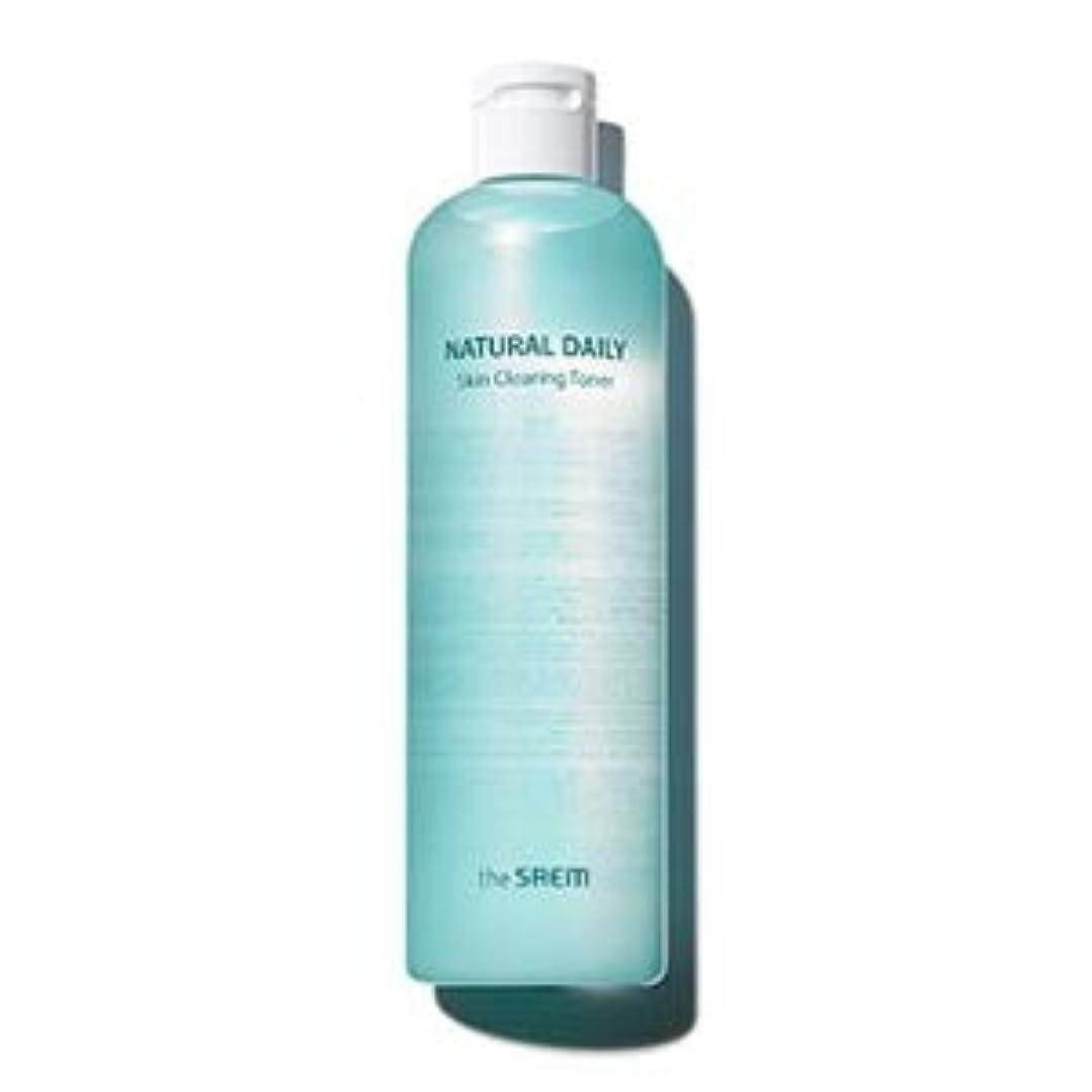 邪魔司書配管工ザセム ナチュラルデイリースキンクリアリングトナー500ml / The Saem Natural Daily Skin Clearing Toner 500ml [並行輸入品]