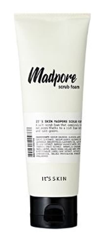 [It's skin] MAD PORE SCRUB FOAM 120ml [並行輸入品]