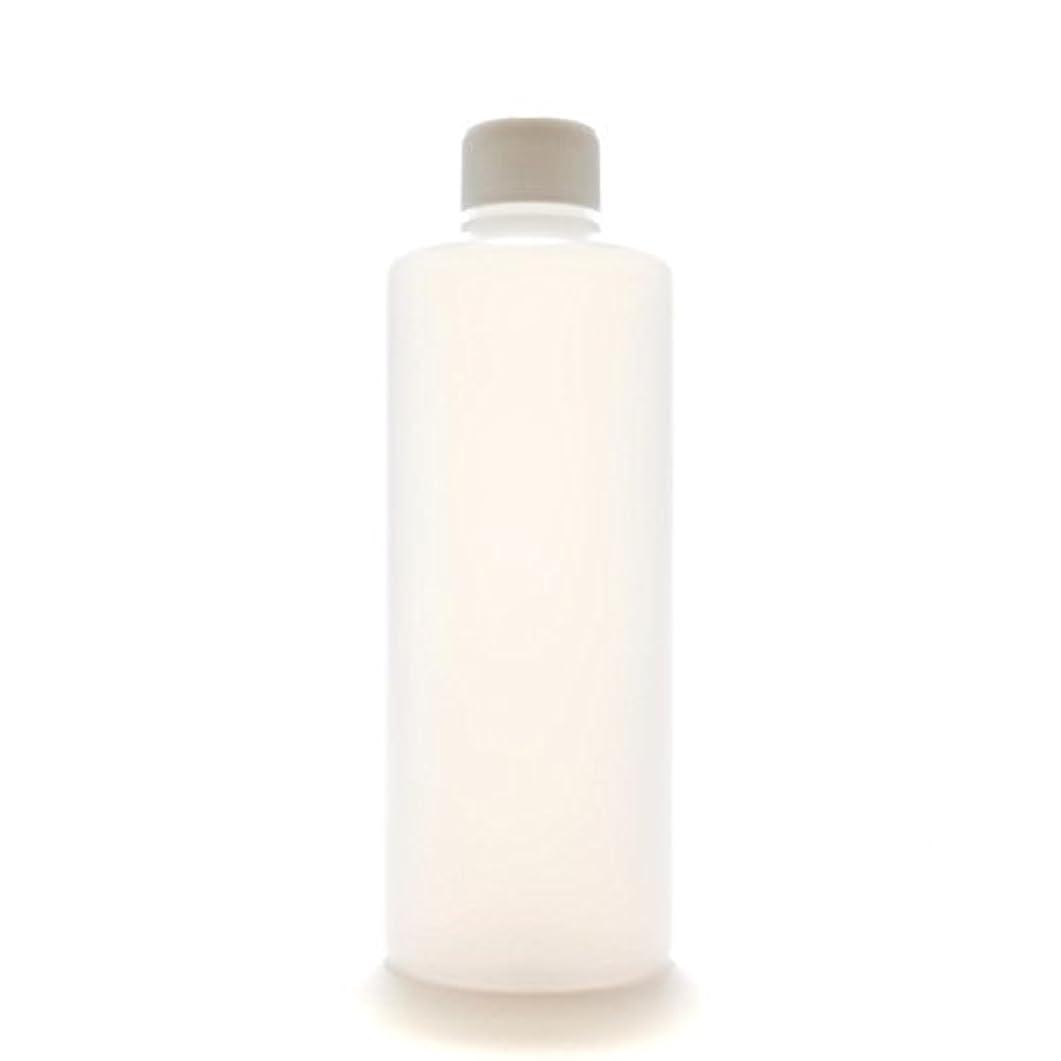 スキーム郡ハンマープラスチック容器 300mL PE ストレートボトル 半透明【スクリューキャップ:ホワイト 中栓付き】
