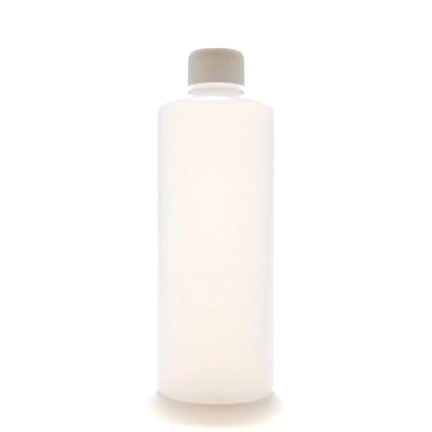 ビバ履歴書統合プラスチック容器 300mL PE ストレートボトル 半透明【スクリューキャップ:ホワイト 中栓付き】