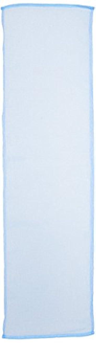 哀れなコーデリア破壊アイセン BHN02 ナイロンタオル100cmかため ブルー