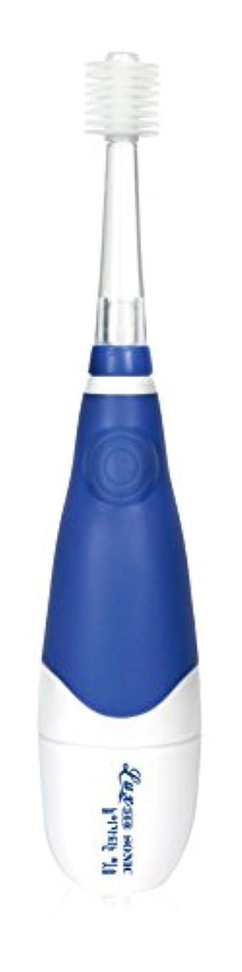 弱点交流するうまくいけばLUX360 子供用音波歯ブラシ ブルー