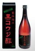 黒コウジ酢(コウジ黒酢)720ml3本セット