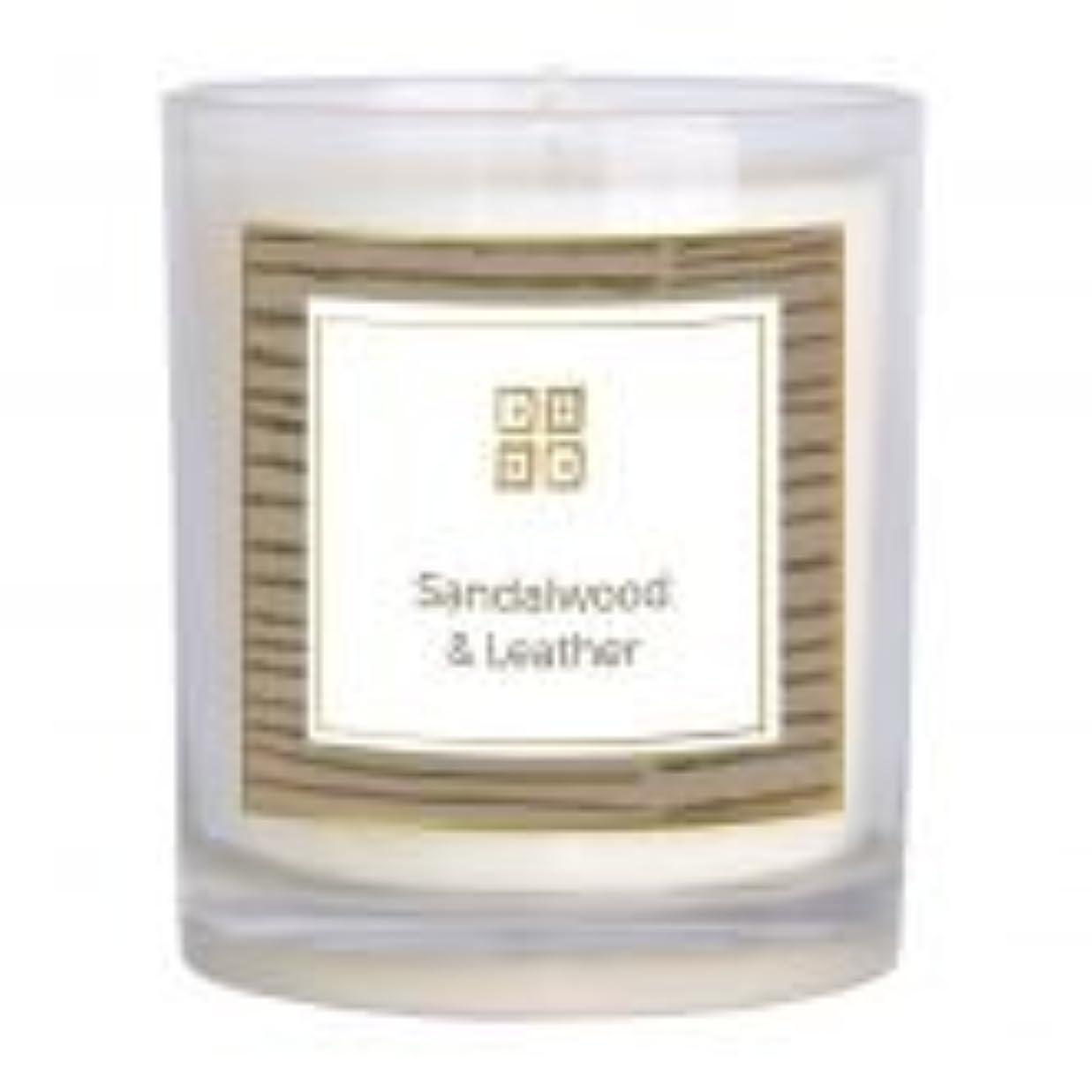 レールアスレチックタンカーサンダルウッド&レザー香りのキャンドル 12 oz 503-08844