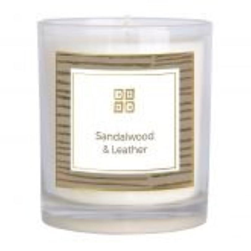 サンダルウッド&レザー香りのキャンドル 12 oz 503-08844