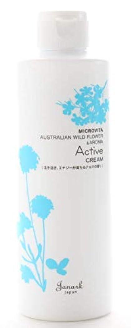 風味法医学粘性の【アクティブクリーム 250ml】つらい肩腰を楽にして活力アップするボディクリーム