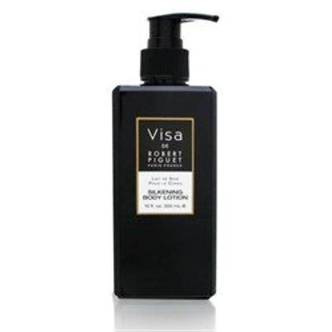 写真撮影フラフープ従者Visa (ビザ)10 oz (300ml) Body Lotion (ボディーローション) by Robert Piguet for Women