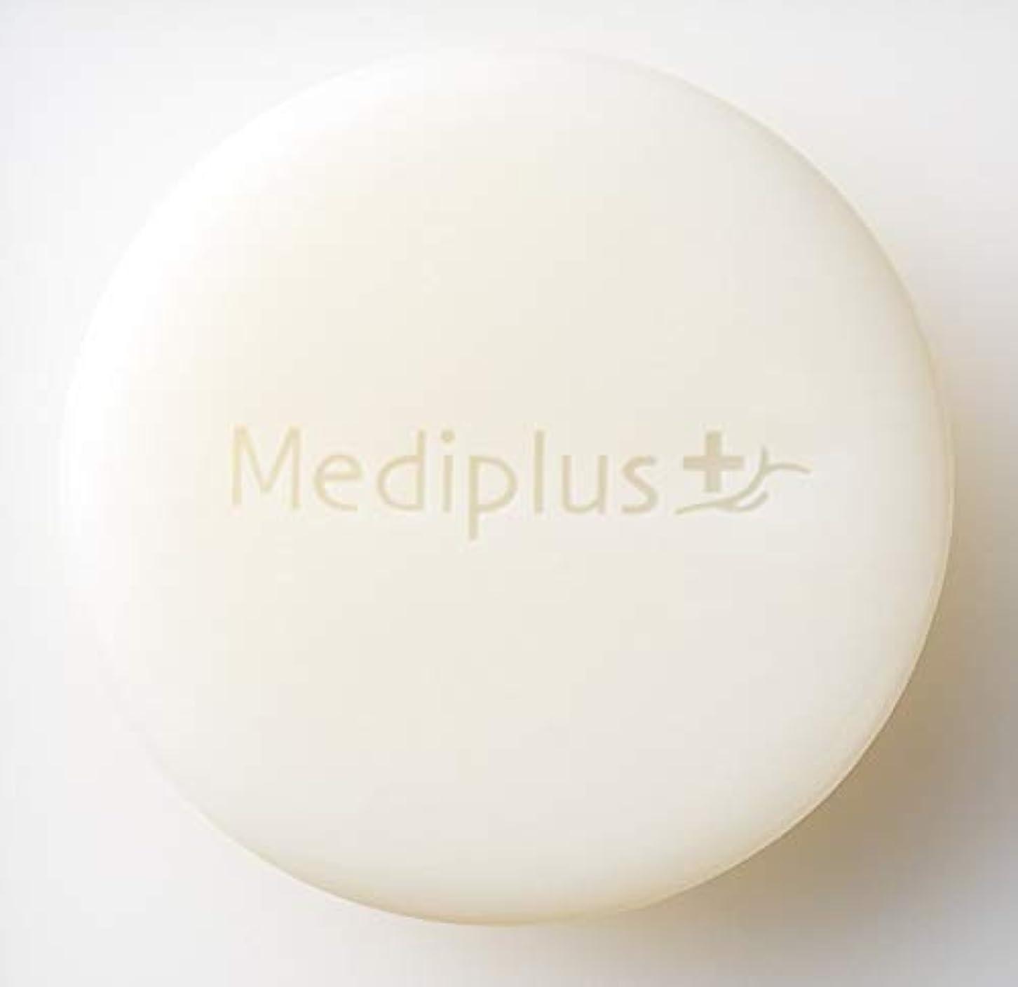 暴動ベンチ眠る【Mediplus+】 メディプラス オイルクリームソープ [ 洗顔用 固形石鹸 ]