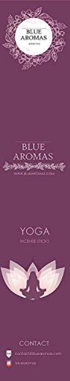 裂け目私発送Blue Aromas Yoga Incense Sticks Agarbatti |Pack of 8, 10 Sticks in Each Pack Incense | Export Quality